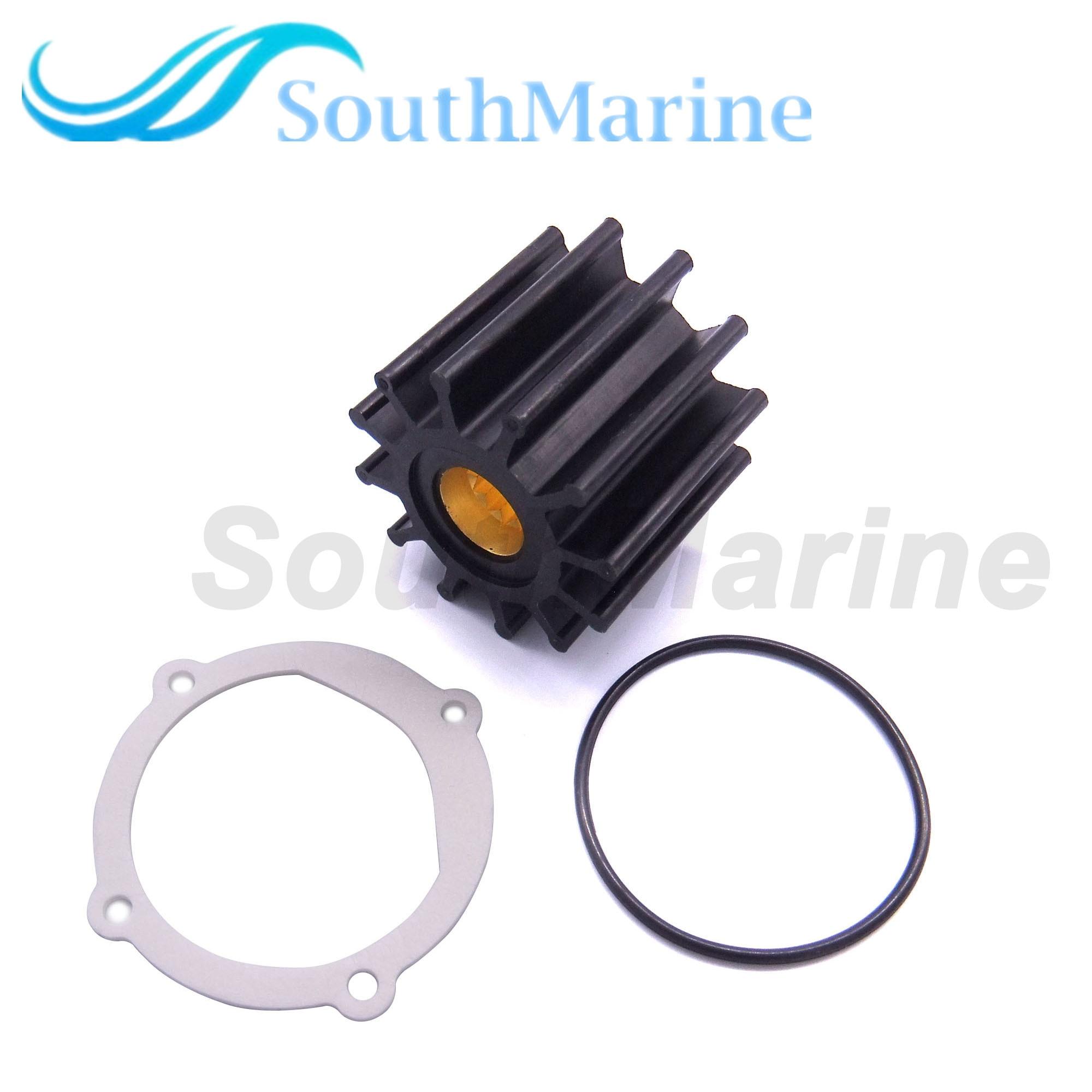 Impeller 09-812B 13554-0001 119773-42600 S685007 18-3306 6TA-12457-00 For Yanmar / Johnson / Yamaha / Volvo Penta Pumps