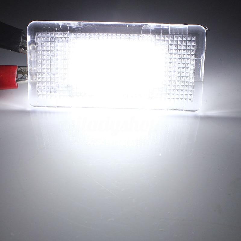 1pc 6500K Auto LED Kofferbak Boot Licht 12V Voor BMW E39 E60 F10 E65 E81 E82 kofferbak Boot Licht