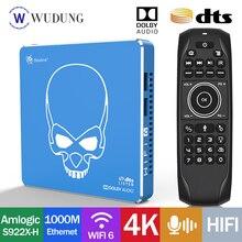Android 9,0 Beelink - GT König WiFi 6 Pro 4GB / 64GB TV box AMLOGIC 4K quad-core netflix Dolby / Audio / DTS hören decoder