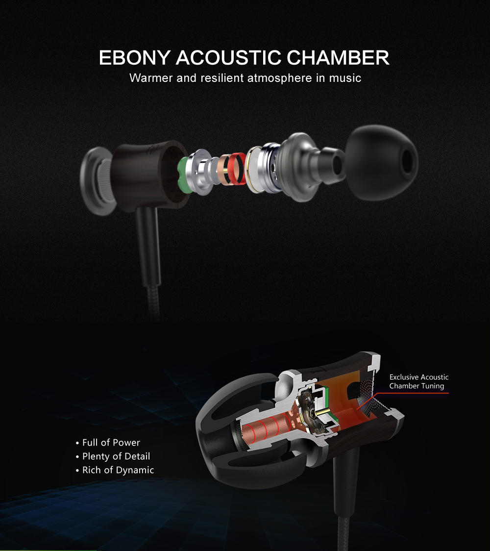 Fidue a66 in-ear fones de ouvido com