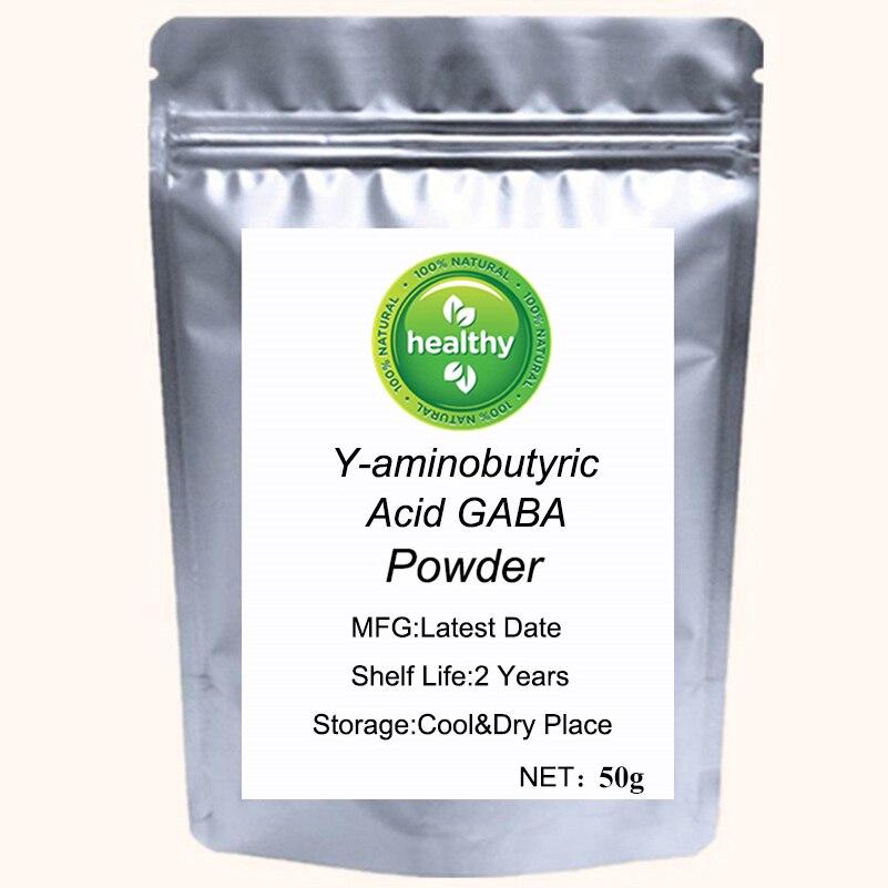 Y-aminobutyric Acid GABA Powder Cosmetics Improve Sleep and Improve Concentration,Promote Positive Mood
