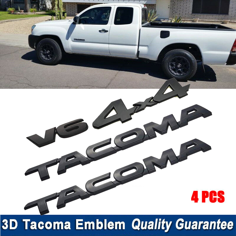 Toyota Tacoma 2016-2019 TRD PRO Front Doors /& Tailgate Emblem Set of 4 Genuine