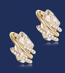 FD01    925 pure silver love lady Earrings lovers Earrings