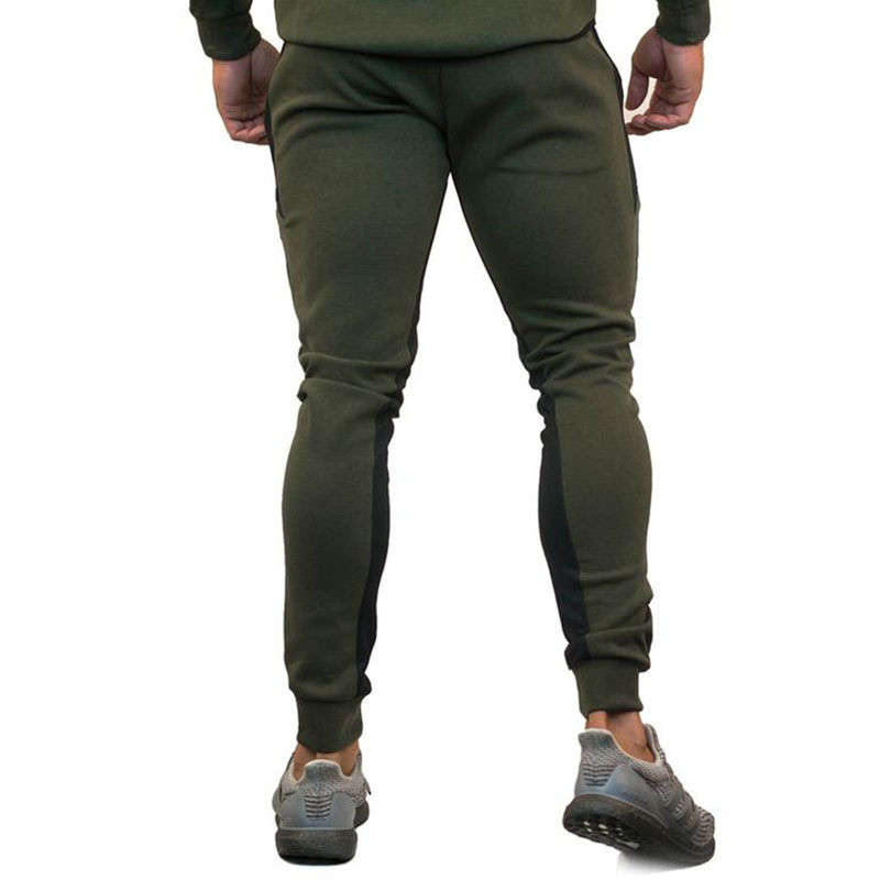 Image 4 - Sportswear Tracksuits Men Sets Running Gym Tracksuit Fitness Body building Mens Hoodies+Pants Jogger Sport Suit Men Clothing-in Men's Sets from Men's Clothing