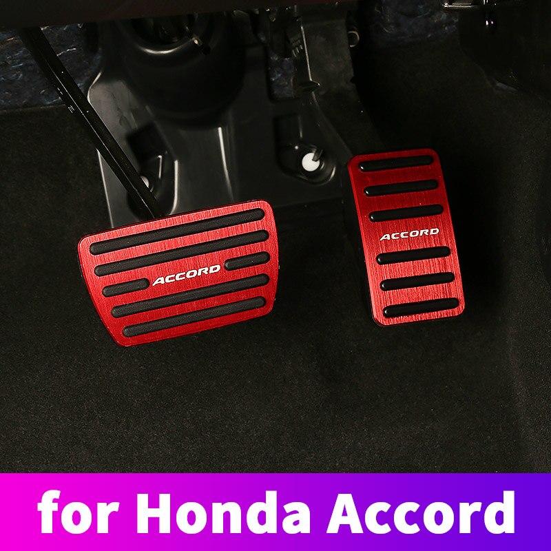 Aluminium legierung drossel bremspedal kupplung kupplung pedal änderung dekoration für Honda Accord 10 2018 2019