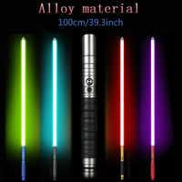 Sable de luz jedis Sith Luke luz Saber fuerza FX pesado Dueling recargable cambio de Color sonido FOC bloqueo Metal mango espada