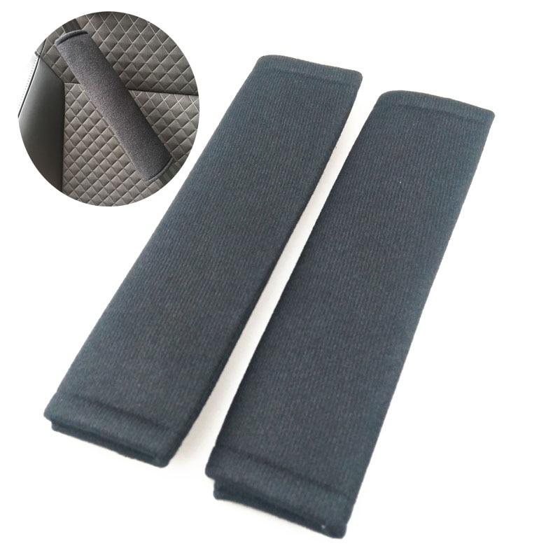 2 seat belt pad soft velvet car adult shoulder pad for Land Rover Range Rover/Evoque/Freelander/Discovery