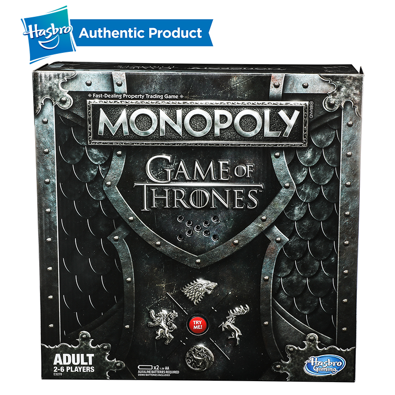 Hasbro Monopoly jeu de trônes jeu de société pour 18 ans et plus pour jouer pour adulte famille jeu ensemble Fans populaires marchandise - 6