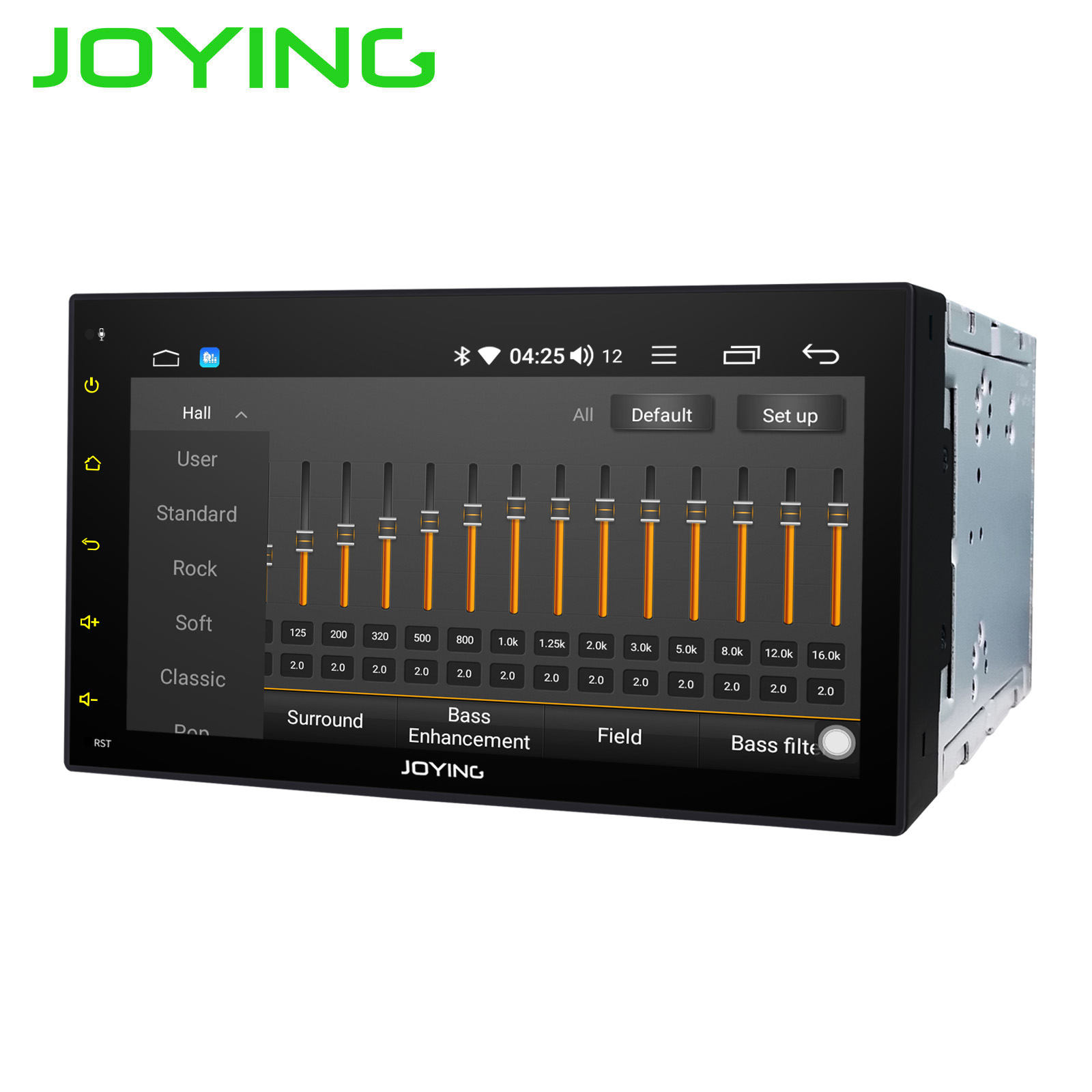 "JOYING double 2 din 6.95"" car radio Android 8.1 Octa Core with DSP GPS Navigation head unit SWC universal BTstereo audio player-in Car Multimedia Player from Automobiles & Motorcycles    2"