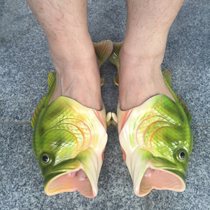 Funny Fish Shaped Slipper Love