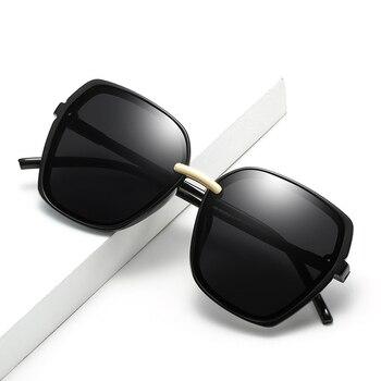 Gafas de sol cuadradas de marca Vintage 2020, gafas de sol negras de moda para mujer, gafas de sol para hombre, gafas de sol para exteriores, gafas UV400
