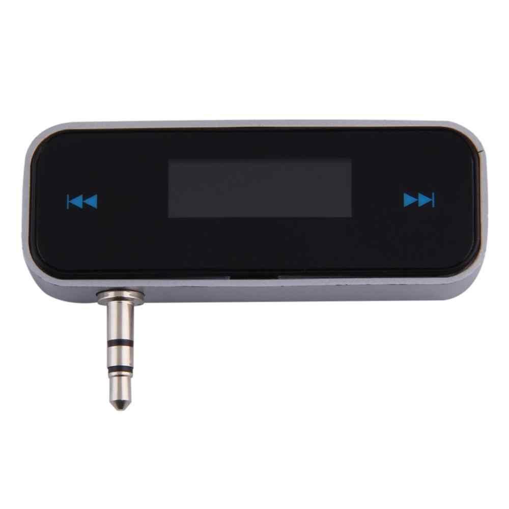 NewUniversal 3.5 مللي متر اللاسلكية البسيطة سيارة FM الارسال كيت الموسيقى FM مع كابل يو اس بي لأجهزة أي بود/باد/فون 4 4S 5 5S 6 6S ل سامسونج