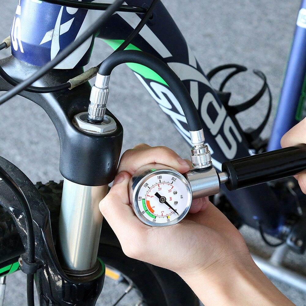 Велосипедный насос мини компрессор с соплом портативный велосипедный