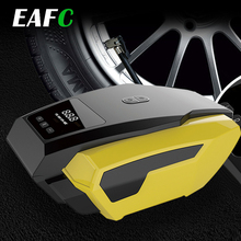 담배 라이터 플러그와 2.8m 긴 확장 전원 코드와 휴대용 12V 자동차 자동 전기 공기 압축기 타이어 팽창기 펌프