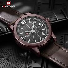 Wristwatch Men NAVIFORCE Clock Quartz Sport Waterproof Casual Relogio Luxury Brand Calendar