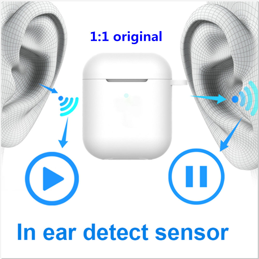 DOHKO 1 PRO Original <font><b>Bluetooth</b></font> Headset Ohrhörer <font><b>Wireless</b></font> Headset für <font><b>Iphone</b></font> Android <font><b>7</b></font>/8/<font><b>PLUS</b></font> X xs Max PK i200 i100000 I9000 tws image