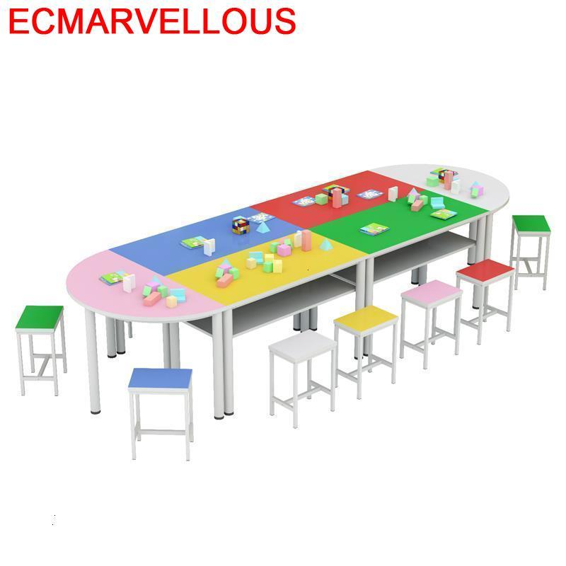Pupitre Infantil And Chair Desk Silla Y Mesa Infantiles Cocuk Masasi Kindergarten Bureau For Kids Study Enfant Children Table