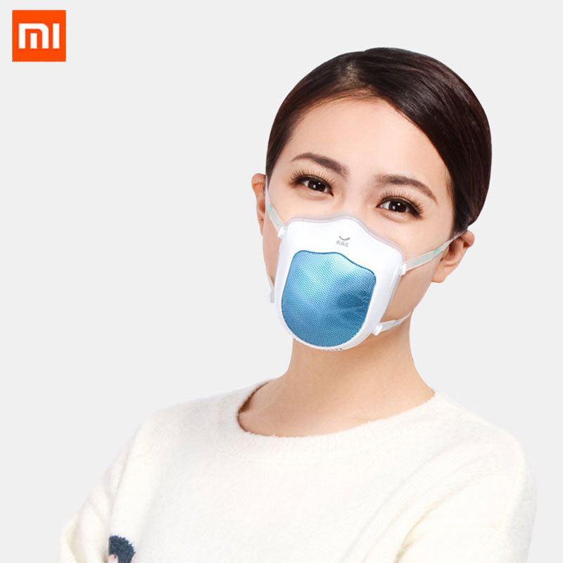 [spot] Xiaomi mijia original Q5s washable trend mask anti haze dustproof and breathable protection 3