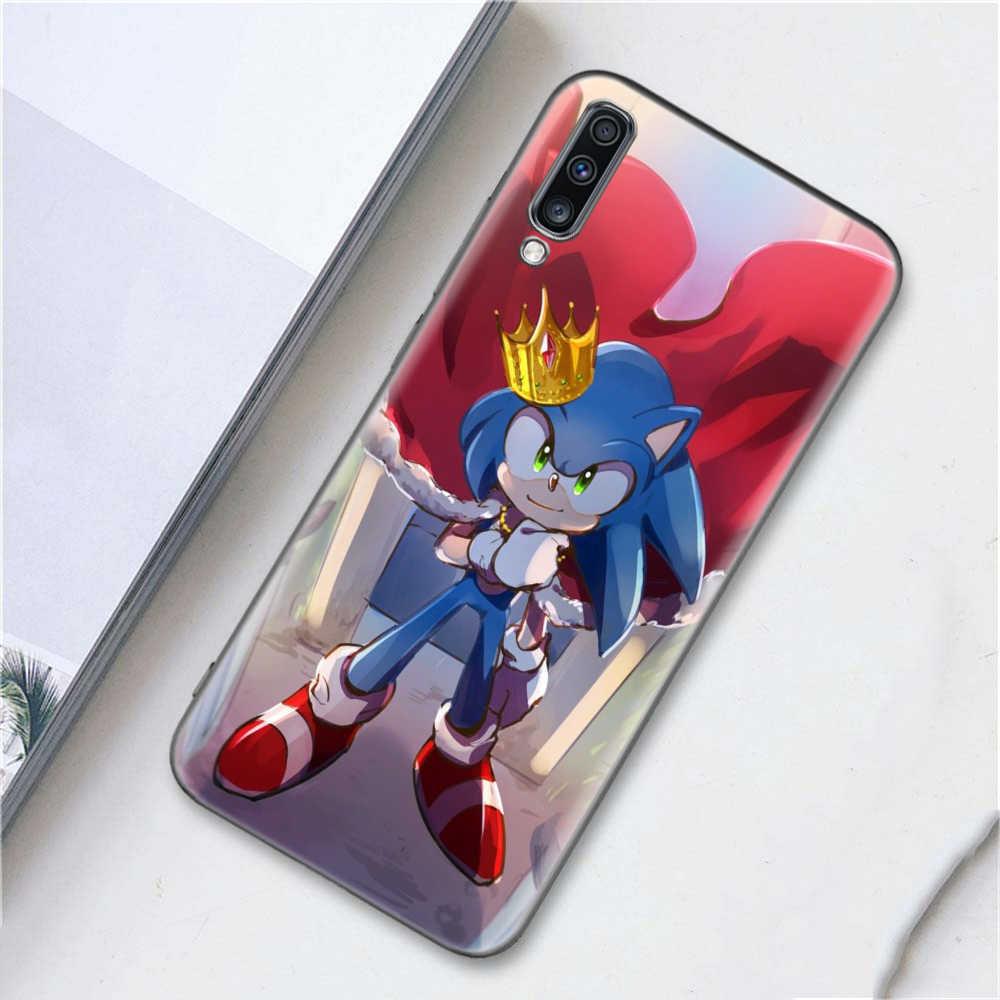 Sonic the Hedgehog kılıf Coque Samsung A10 A10e A20 A20e A30 A40 A50 A60 A70 A80 A10s A20s A30s a50s A70s A905G A6 A7 A8 A9