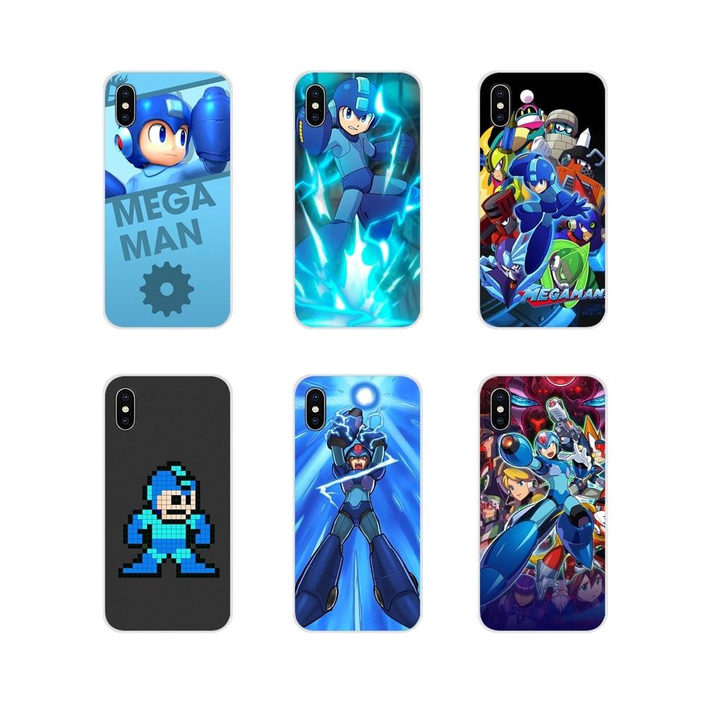 Per Oneplus 3T 5T 6T Nokia 2 3 5 6 8 9 230 3310 2.1 3.1 5.1 7 più 2017 2018 Megaman Mega Man X Accessori Del Telefono Borsette Coperture