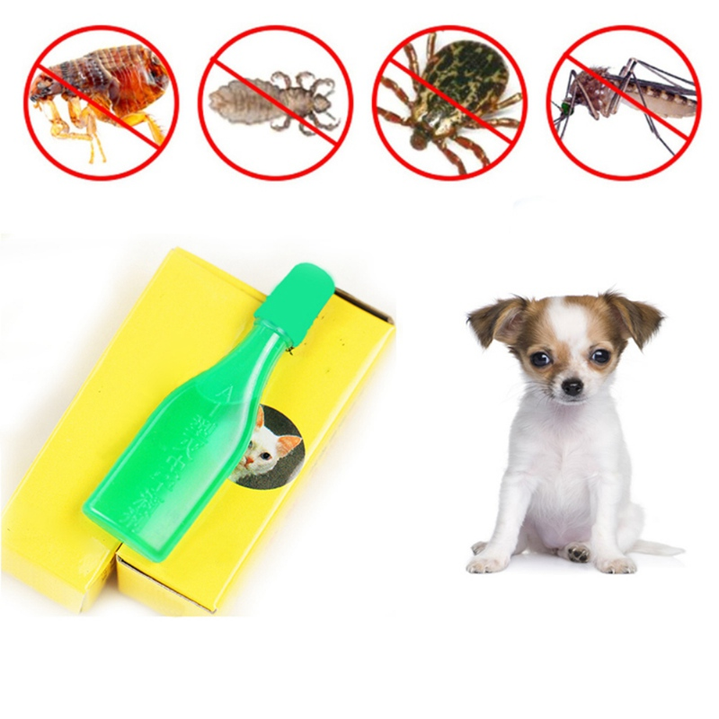 2.5 ML Dog Flea Therapy Pet Cat And Dog In Addition To Flea/Mites/ Mites/Scorpion/Insect Repellent Dog Tick Spray Agent Pet Supp