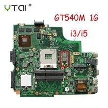 K43SV материнских плат REV: 4,1 GT540M для ASUS A43S X43S K43SJ A43SV K43SV Материнская плата ноутбука HM65 тестирование в целости