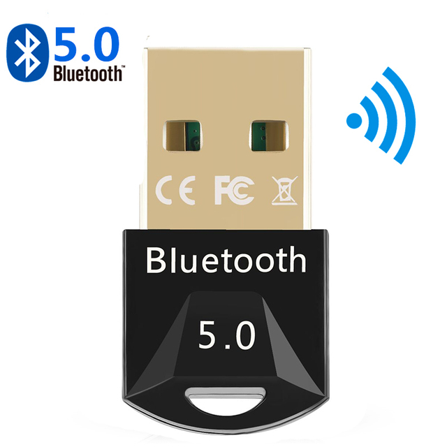 USB Bluetooth 5.0 Bluetooth Adapter Receiver 5.0 Bluetooth Dongle 5.0 4.0 Adapter for PC Laptop 5.0 BT Transmitter 1