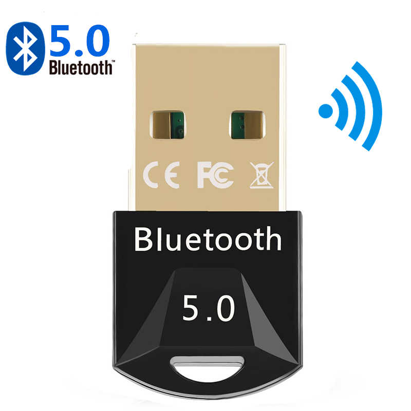 USB Bluetooth 5,0 Bluetooth adaptador receptor 5,0 Bluetooth Dongle 5,0 4,0 adaptador para PC PS4 TV 5,0 transmisor Bluetooth