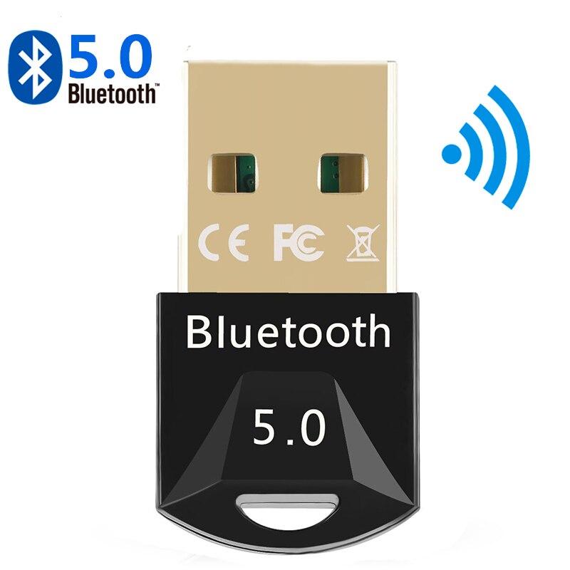 USB بلوتوث 5.0 محول بلوتوث استقبال 5.0 بلوتوث دونجل 5.0 4.0 محول لأجهزة الكمبيوتر PS4 TV Car 5.0 بلوتوث الارسال