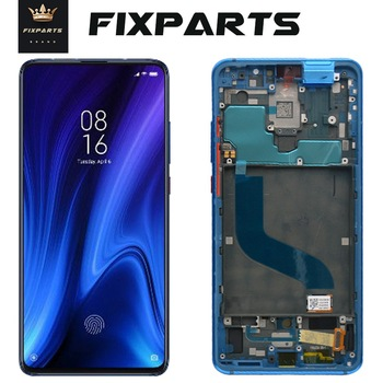 New AMOLED LCD For Xiaomi Mi 9T Mi 9T Pro Display Touch Screen Frame Digitizer Assembly For Xiaomi Redmi K20 Pro LCD K20 Screen