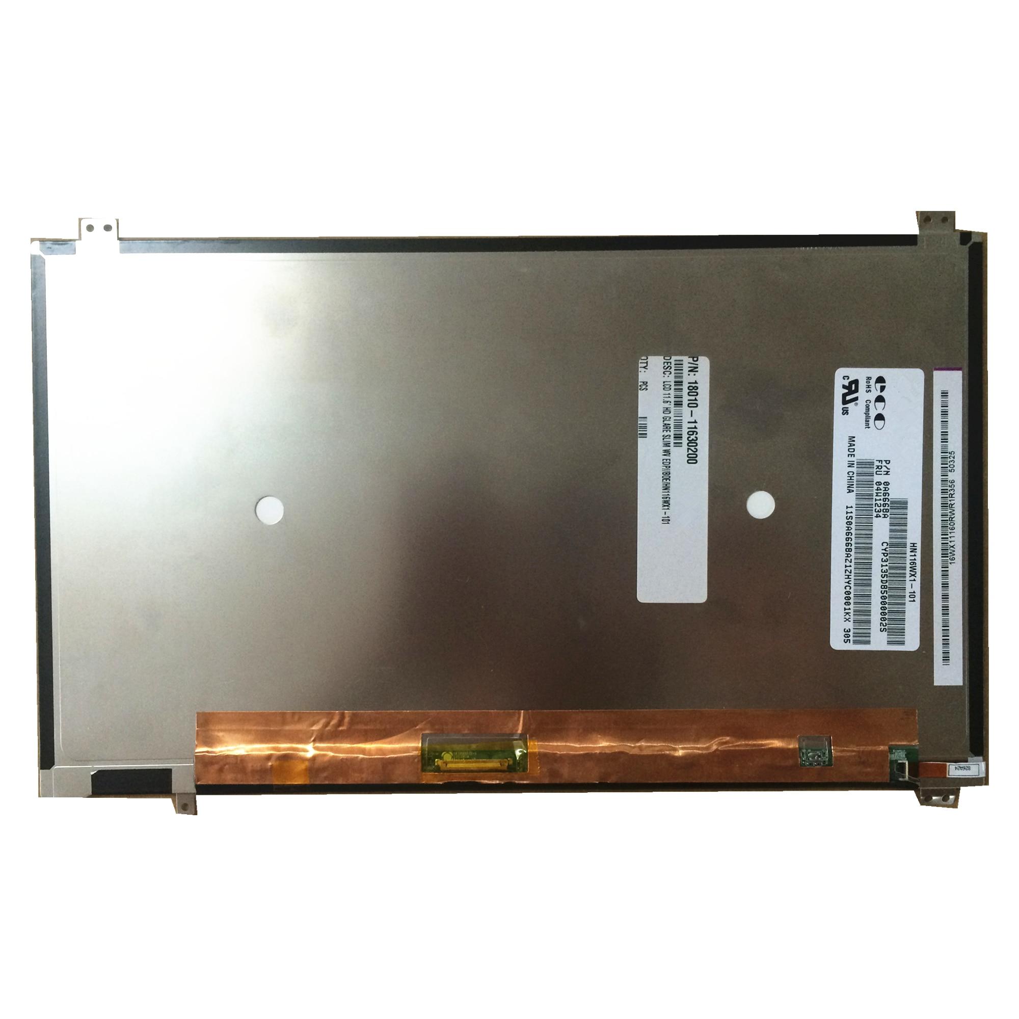 Livraison gratuite 11.6 pouces tablette PC TFT LCD écran HN116WX1-101 HN116WX1 101 1366*768 avec 30 broches