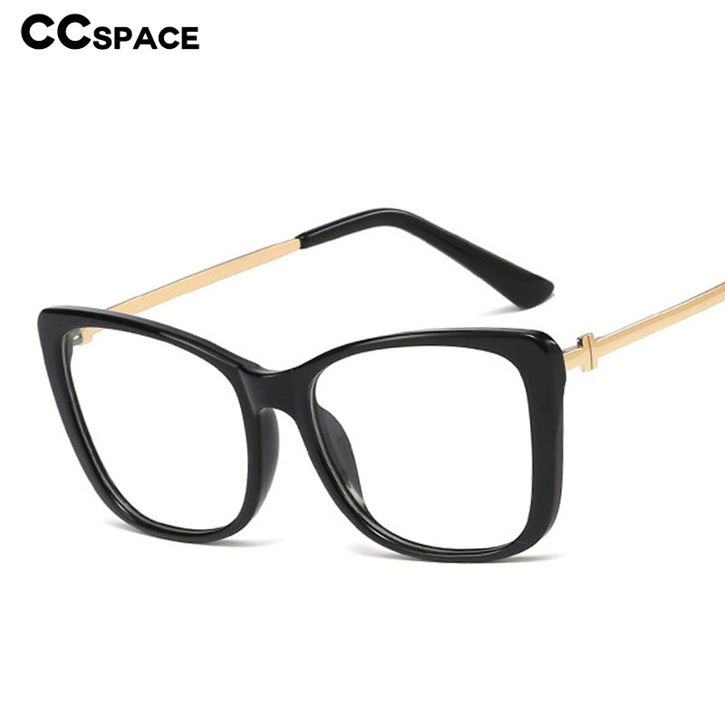 48103 Square Cat Eye Plastic Titanium Glasses Frames Ultralight Men Women Optical Fashion Computer Glasses