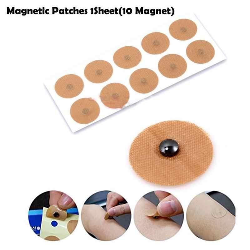 10 stücke/Blatt Magnetische Therapie Schmerzen Relief Natürlichen Erholen Knie/Hals/Zurück Körper Magnet Muscle Patches Putze zurück Massage