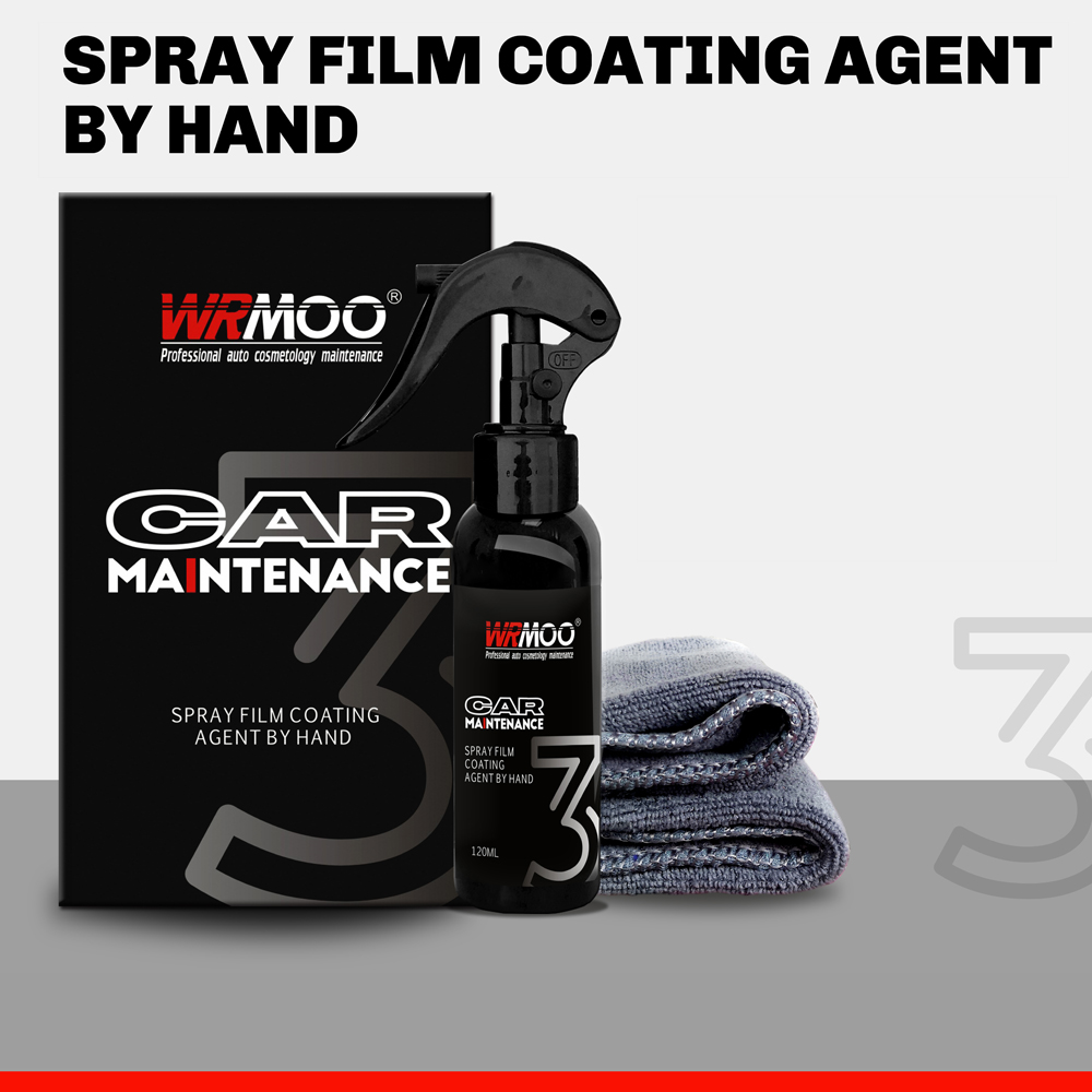 120ml 9H Car Liquid Ceramic Coating Super Hydrophobic Set Nano Ceramic Car Paint Care Liquid Polysiloxane Oxidation Paint Care