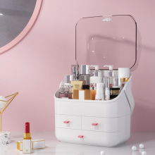 Acrylic Cosmetic Box Multifunctional Transparent Cosmetic Organizer Hand-held Cosmetic Jewelry Bag Drawer Home Storage Boxs