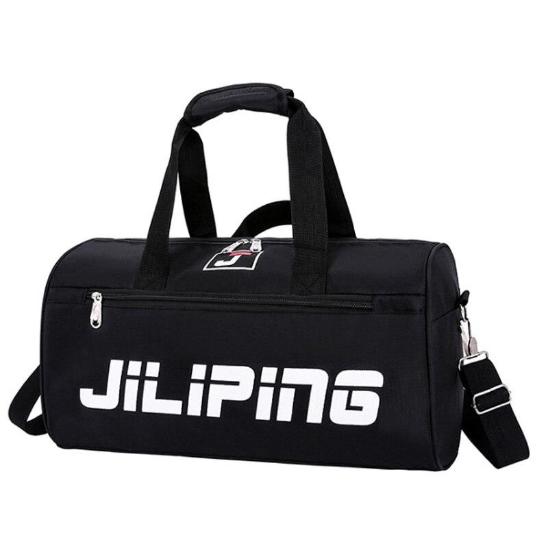 Waterproof Nylon Men Sports Gym Bags Leisure Yoga Fitness Pack Women Travel Handbag Training Big Capacity Duffle Bag