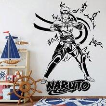 Anime manga decalques de parede decoração para casa meninos crianças quarto dos desenhos animados sala fundo vinil removível adesivos y974