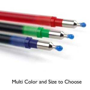 Image 4 - LifeMaster recambio de bolígrafo múltiple, 6 unidades por lote, Pilot Hi Tec C, Gel de Coleto, 0,3mm, Negro/azul/rojo/15 colores disponibles