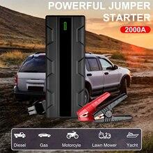 Power-Bank Car-Battery-Charger Jump-Starter Air-Compressor 12v Booster 12800mah Emergency