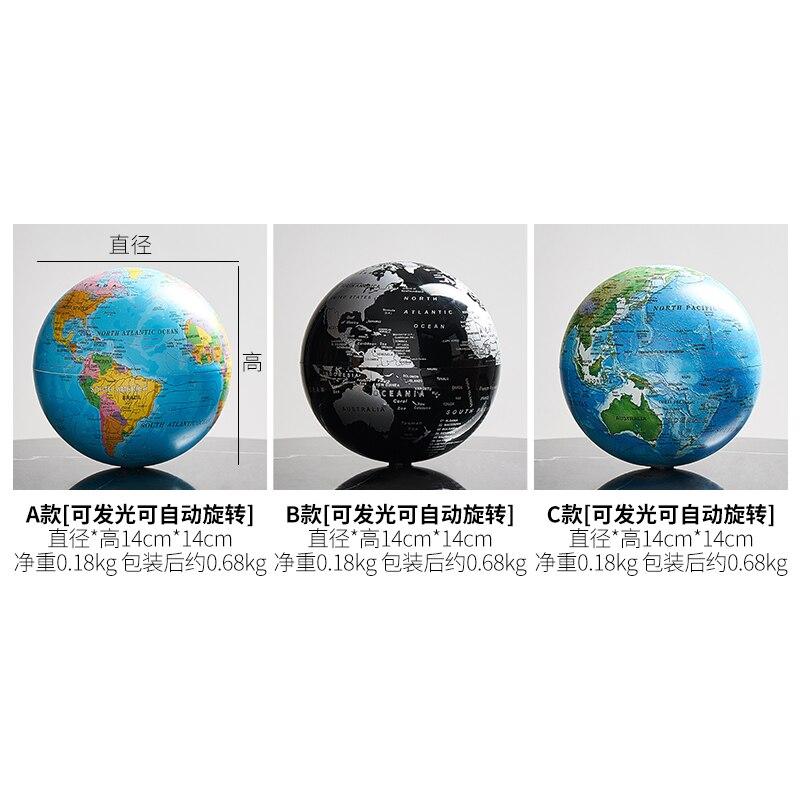 Retro world globe 6