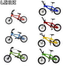 Bike-Toys Bmx Finger-Bmx Mountain-Bicycle-Model Gift Boys Children for Mini with Brake-Rope-Alloy