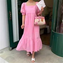 Женское платье макси с оборками винтажный шикарный летний сарафан