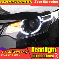 Car Styling for Land Rover Discovery Sport Headlights 2016 2018 Headlamp LED DRL Bi Xenon Lens HID Automobile Accessories