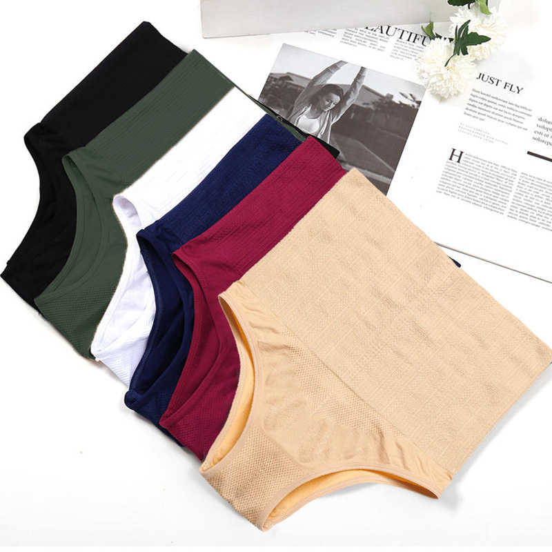 Women Body Shaper Waist Trainer Pants Slimming Underwear Bodysuit Shapewear Shaping Tummy Shaper Control High Waist Panty New