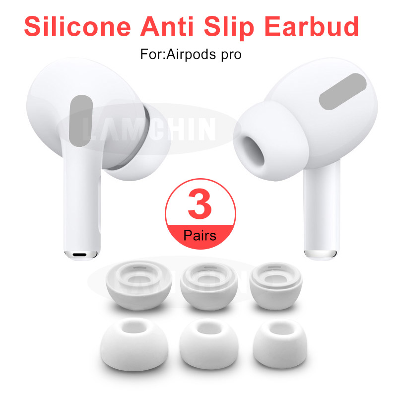 Anti Slip Earbud For AirPods Pro Perfect Fits Bluetooth Earphones For AirPods 3 Silicone Replacement Earbuds Soundproof Earplug