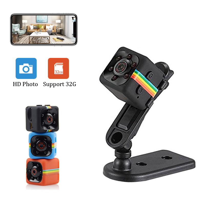 SQ11 Mini Camera Security 1080P HD Small Camera Cam Sensor Night Vision Recorder Camcorder Motion Micro Camera Sport DV Video