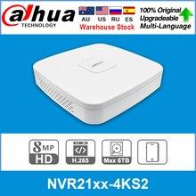 Сетевой видеорегистратор Dahua оригинальный мобильный телефон 4 к NVR NVR2104-4KS2 NVR2108-4KS2 NVR2116-4KS2 4/8/16CH 1U Lite Сетевой Видео Регистраторы H265 для IP Камера ...