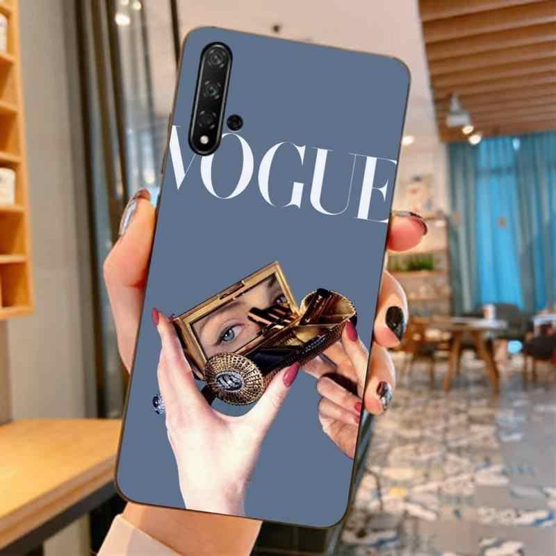 LVTLV nowy więcej problemów niż księżniczka Vogue TPU miękkiego silikonu telefon skrzynki pokrywa dla huawei nova 2 2i 2plus 2s 3i 3e 4 4e 5 5i pro