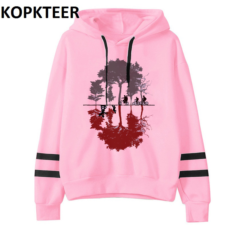 Stranger Things Hoodie Eleven Women Casual Goric Hoodies Pullover Thick Female Clothing Harajuku Funny Movie Tops Sweat Femme