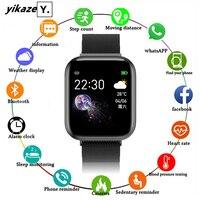 Reloj inteligente deportivo I5 VS B57 T900 T500 W34 para hombre y mujer, pulsera resistente al agua para Android e IOS